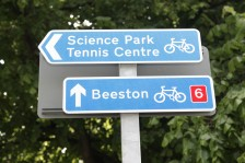 National cycle route signs
