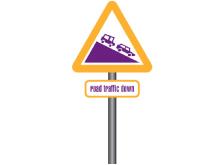 road traffic sign