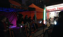 Light Night 2014 Pedal Power Sound