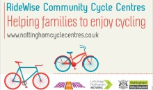Visit our new RideWise community cycle centres